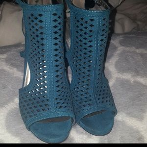 Open Toes Turquoise